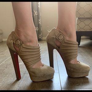 get cheap watch usa cheap sale Christian Louboutin Shoes | Gently Used Sky High Heels | Poshmark